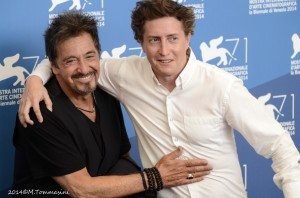 Al Pacino con David Gordon Green Radio Puntozero