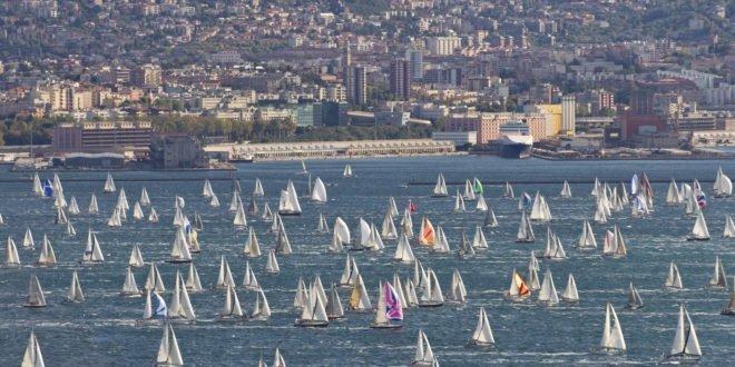 Trieste, 09/10/11 Barcolana 2011 Fleet race Photo: © Carlo Borlenghi