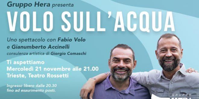 """Il Gruppo Hera presenta """"Volo sull'Acqua"""""""