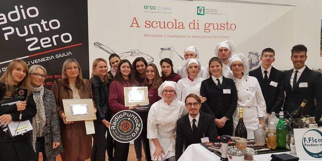 Radio Chef 8 Sezione Scuole e l'Istituto Flora di Pordenone