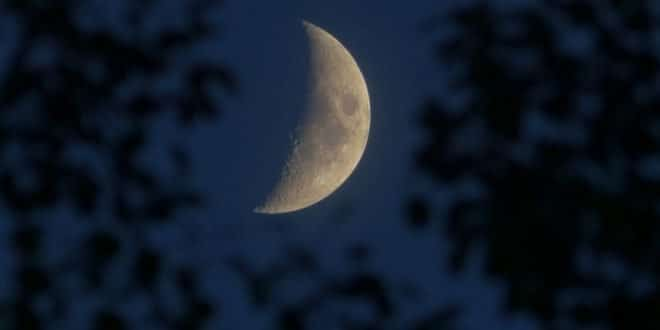 Stanotte l'eclissi parziale di luna