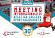 Meeting Internazionale di Atletica Leggere Sport Solidarietà