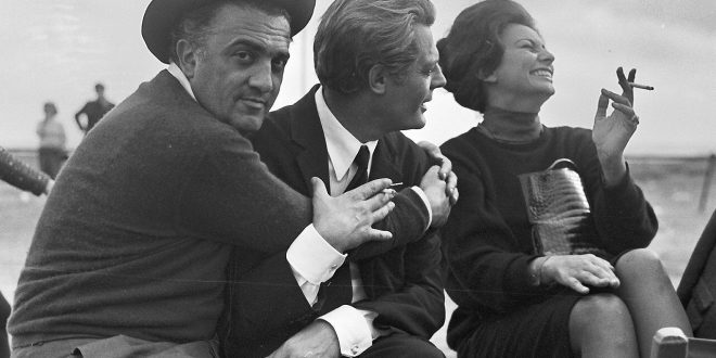 Fellini. La Dolce vita – 8 ½. Fotografie di scena