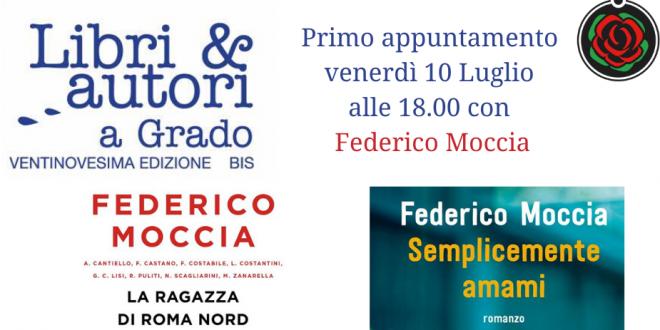 Federico Moccia apre la nuova edizione di Libri e Autori a Grado