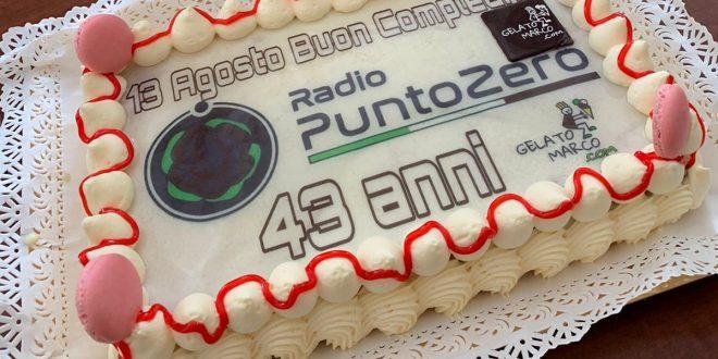 Tanti auguri Radio Punto Zero – 43 Anni!