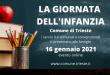 Ritorna in modalita online l'appuntamento con la Giornata dell'Infanzia di Trieste