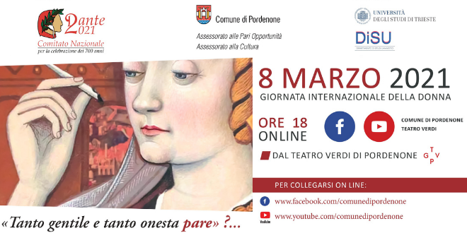 La figura femminile a settecento anni dalla morte di Dante, un incontro tra passato e attualità