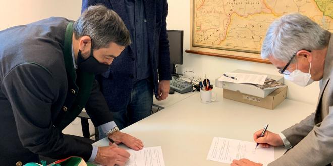 Firmata la collaborazione tra il Museo di Storia Naturale e il Circolo Speleologico Friulano